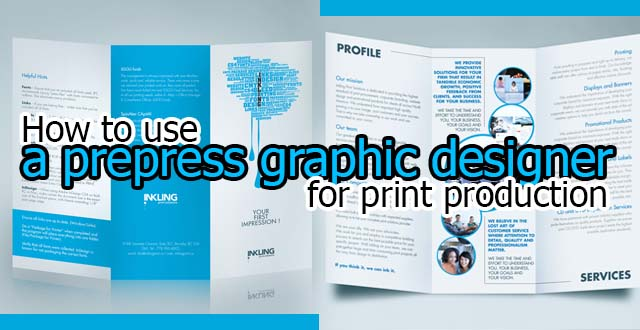 Prepress and Print Outsourcing