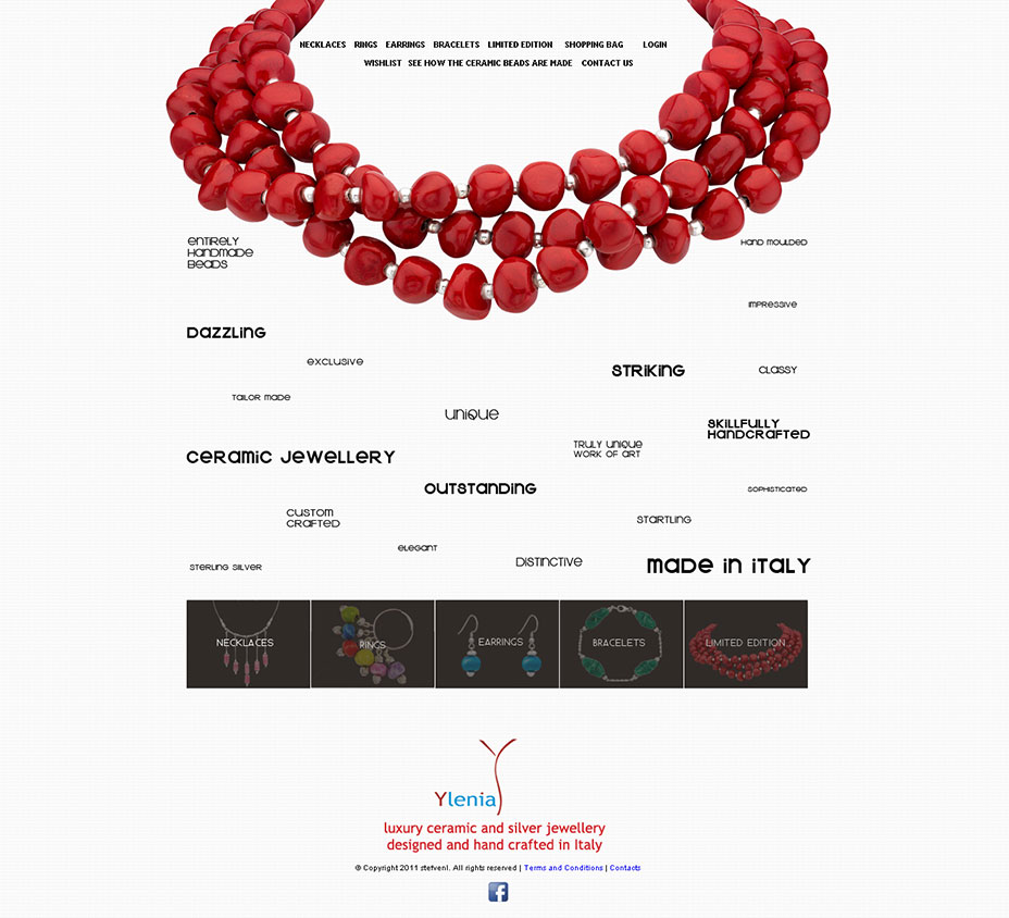 jewellery ecommerce website design