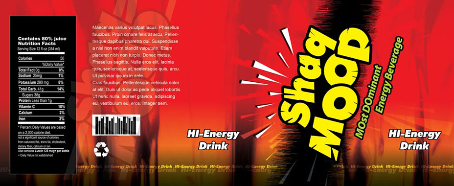 energy drink  label Packaging and Label Design India Graphic Des