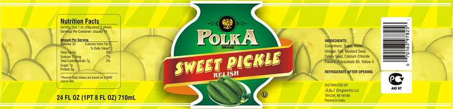Packaging Design India - Food Pickle 1