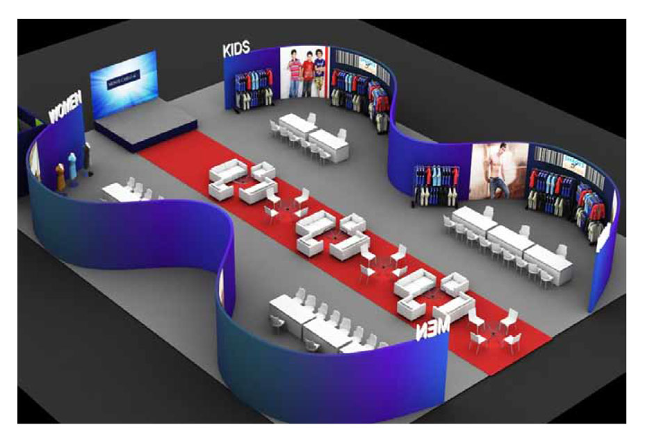Events, exhibitions and tradeshow graphic design by KID India gr