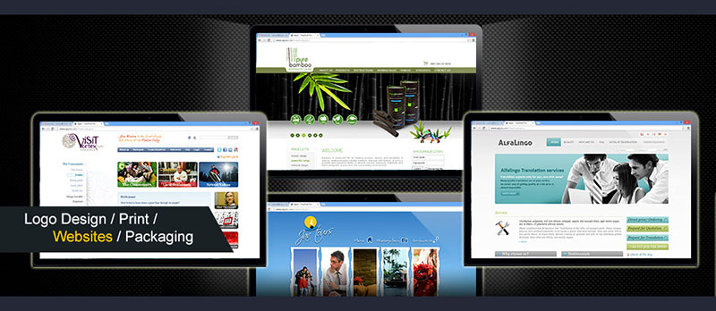 web-design-collage
